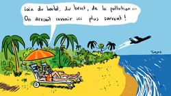 Vacances polluées