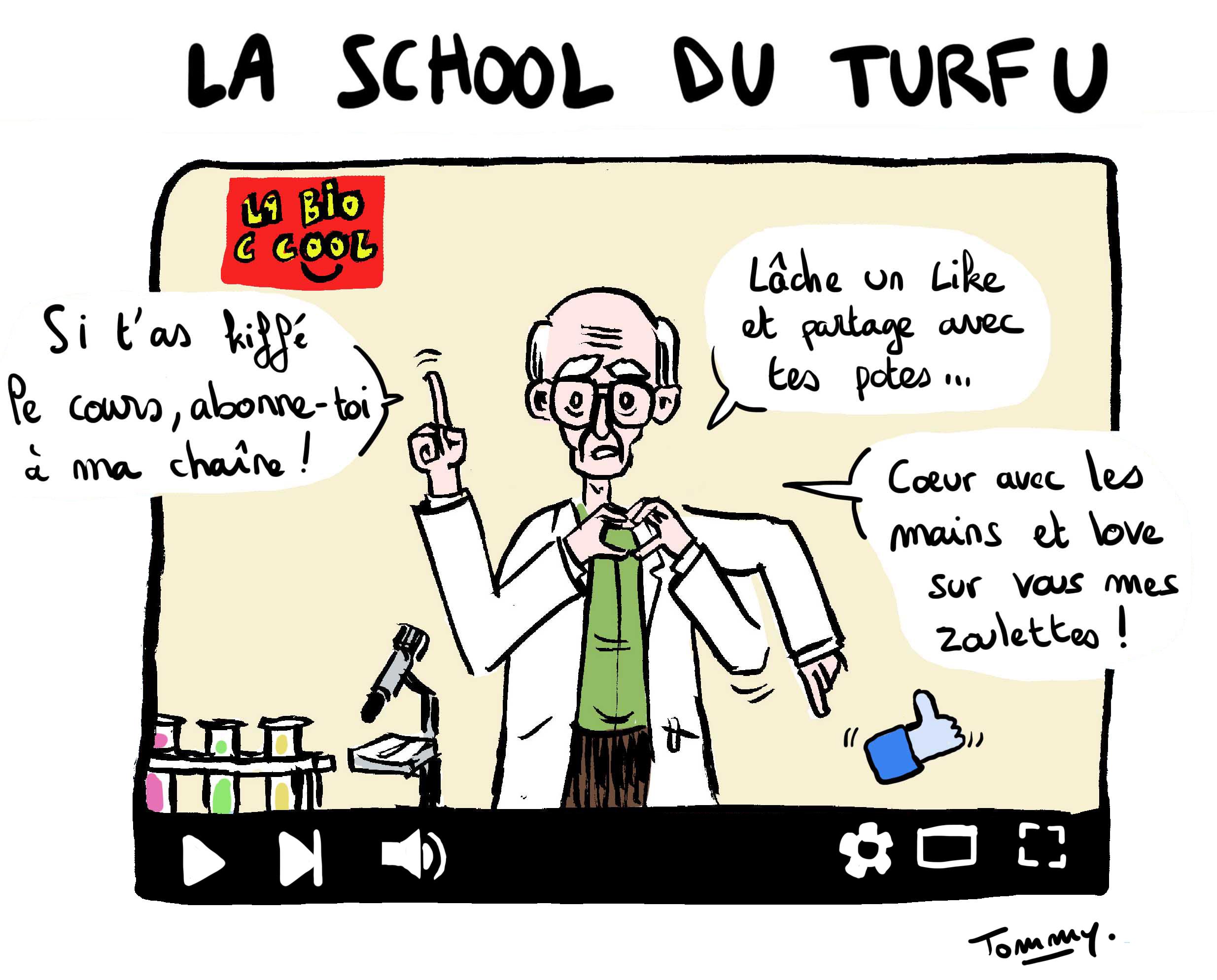 La school du turfu