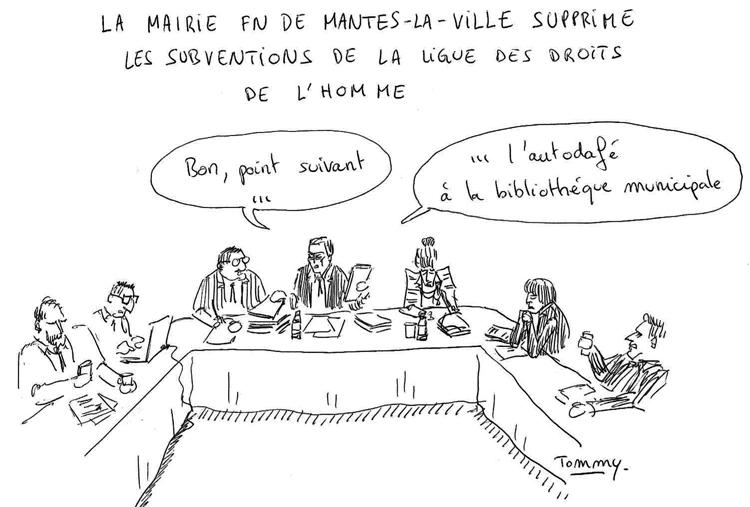 Conseil municipal à Mantes la ville