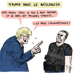 Trump dans le Wisconsin