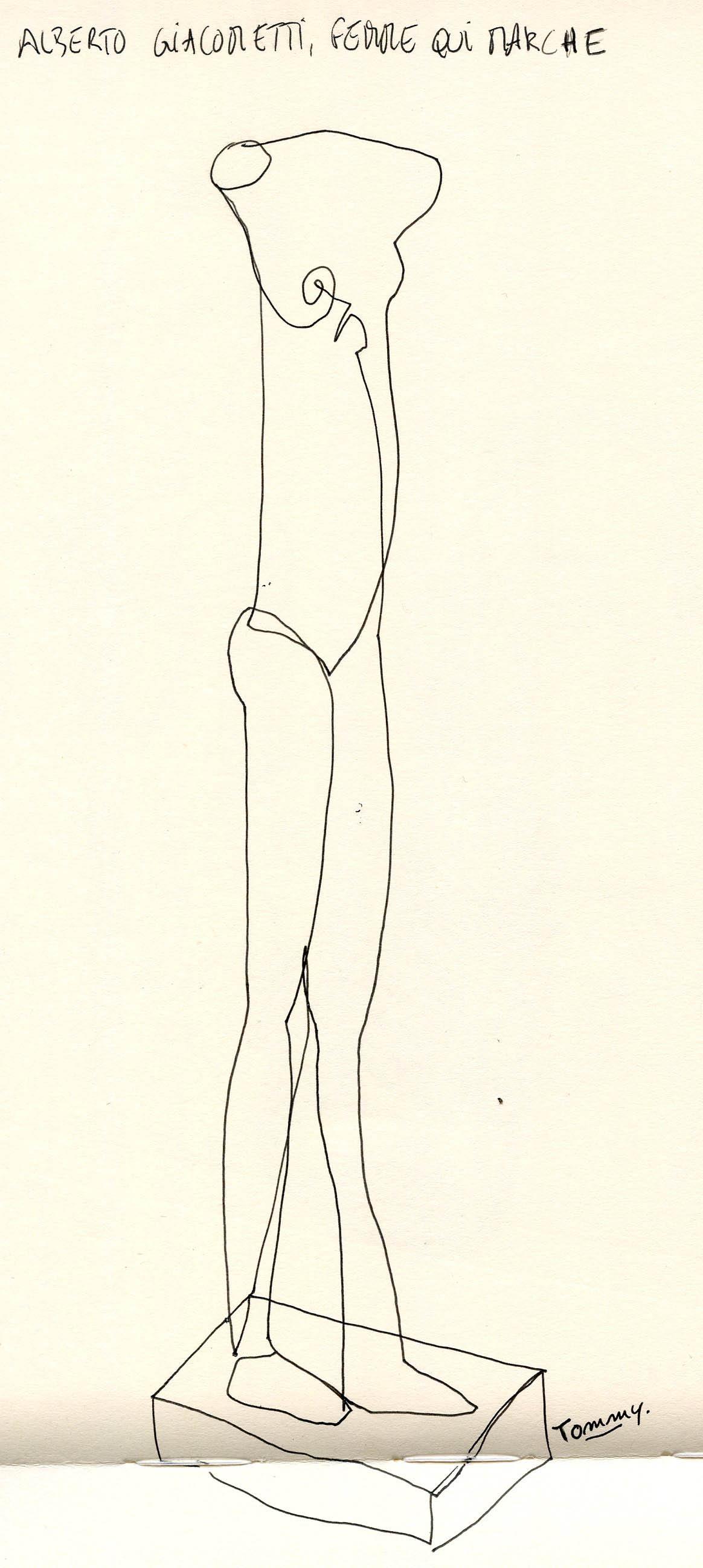 Femme qui marche - Giacometti