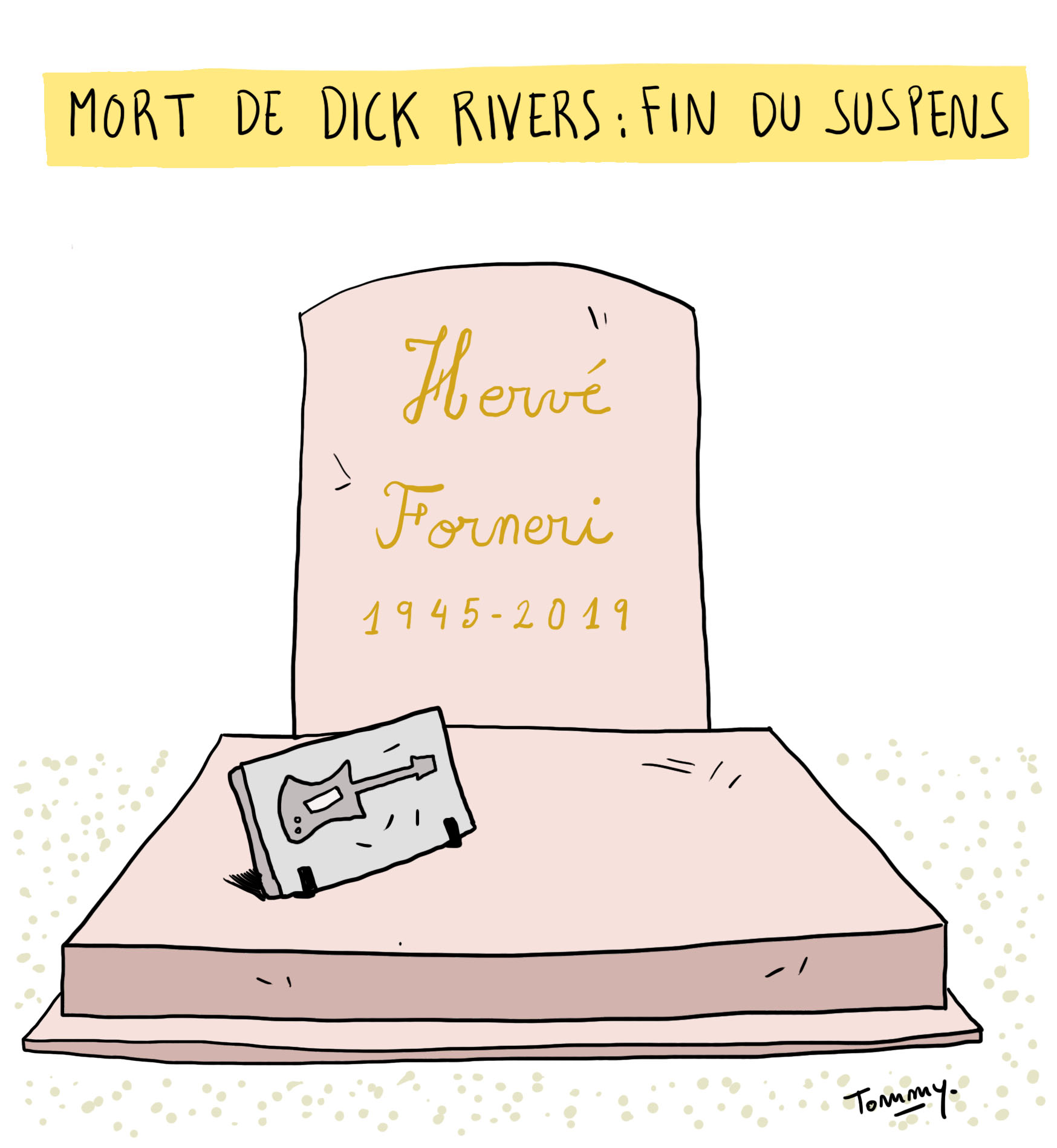 Mort de Dick Rivers