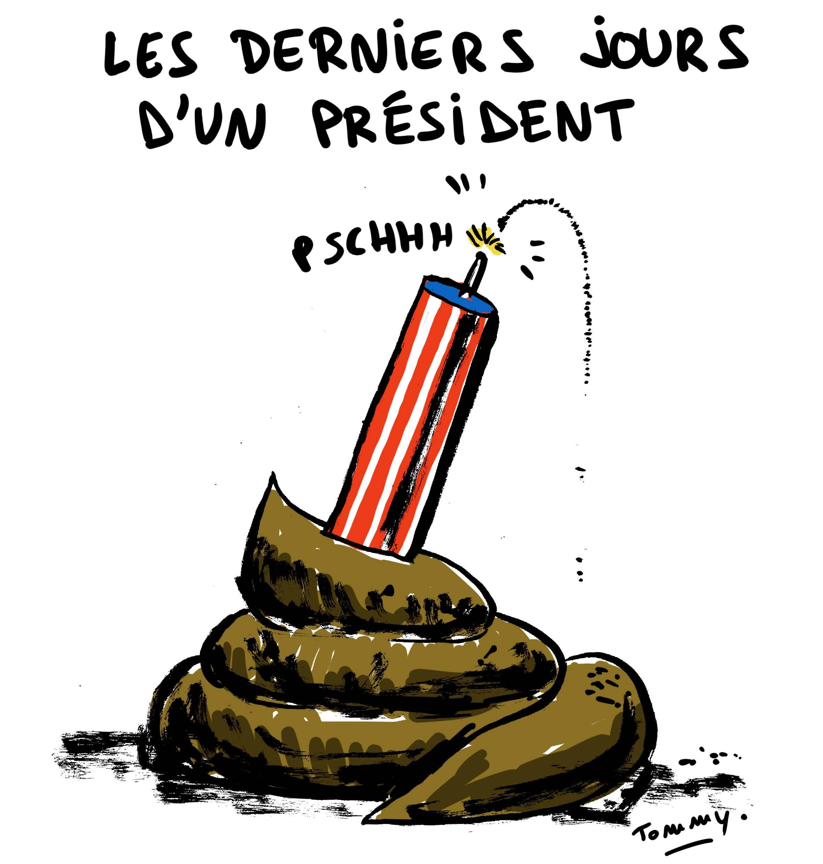 Les derniers jours d'un président