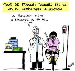 Tour de France : l'immunité