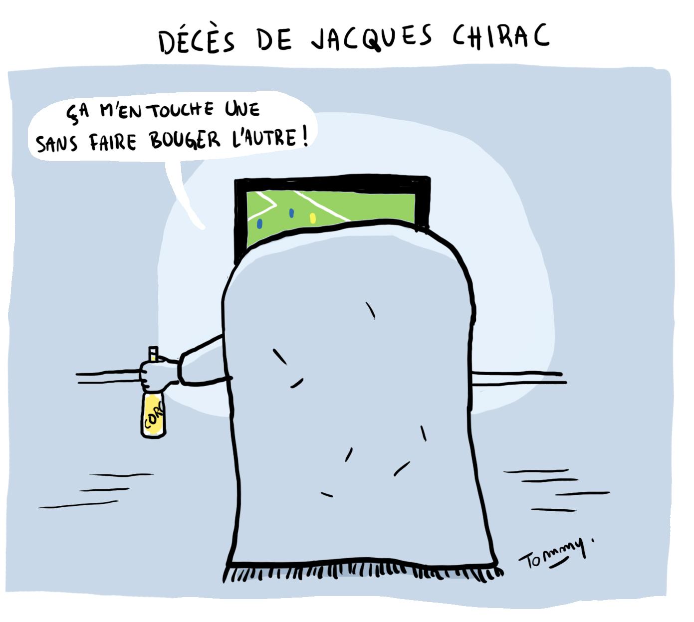Décès de J.Chirac