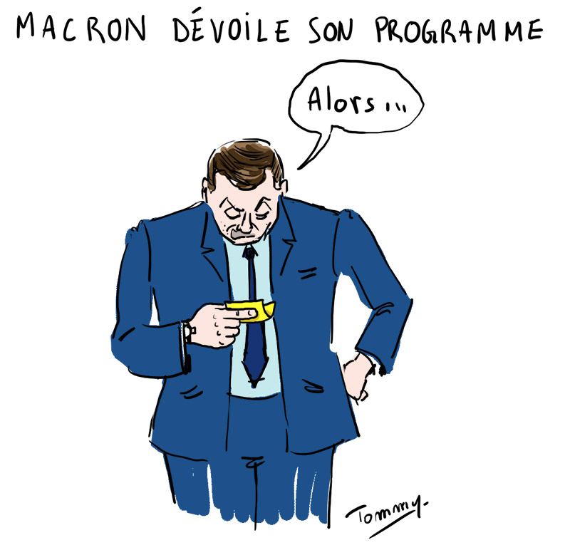 Le programme Macron