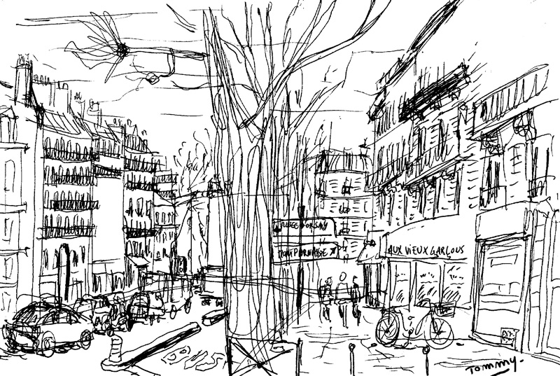 Boulevard Saint-Germain, Paris (1/2)