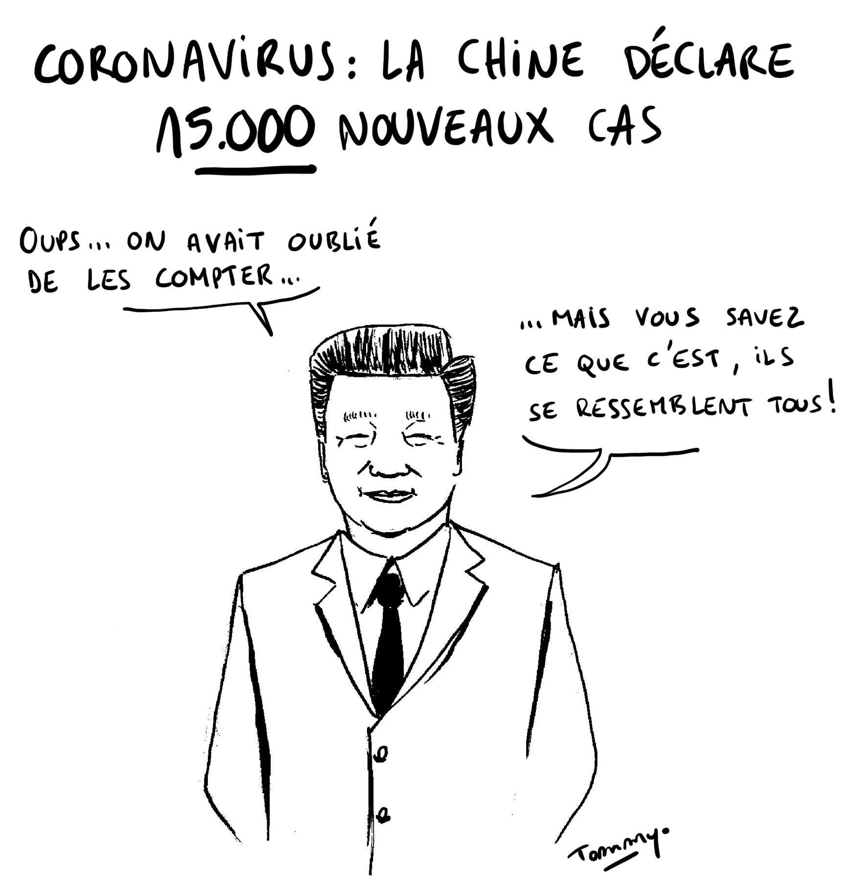 Coronavirus : 15.000 nouveaux cas !