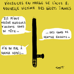 Gilets jaunes : violences