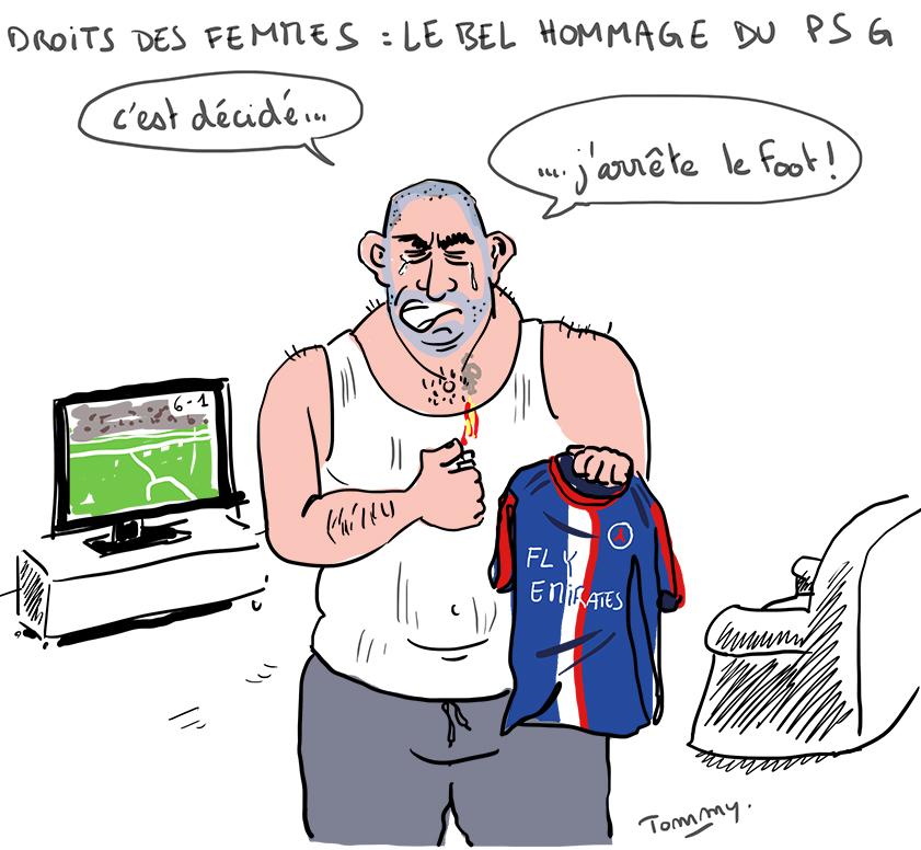 8 mars : le bel hommage du PSG