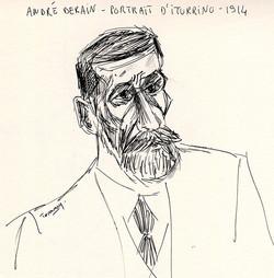 Portrait d'Iturrino - Derain