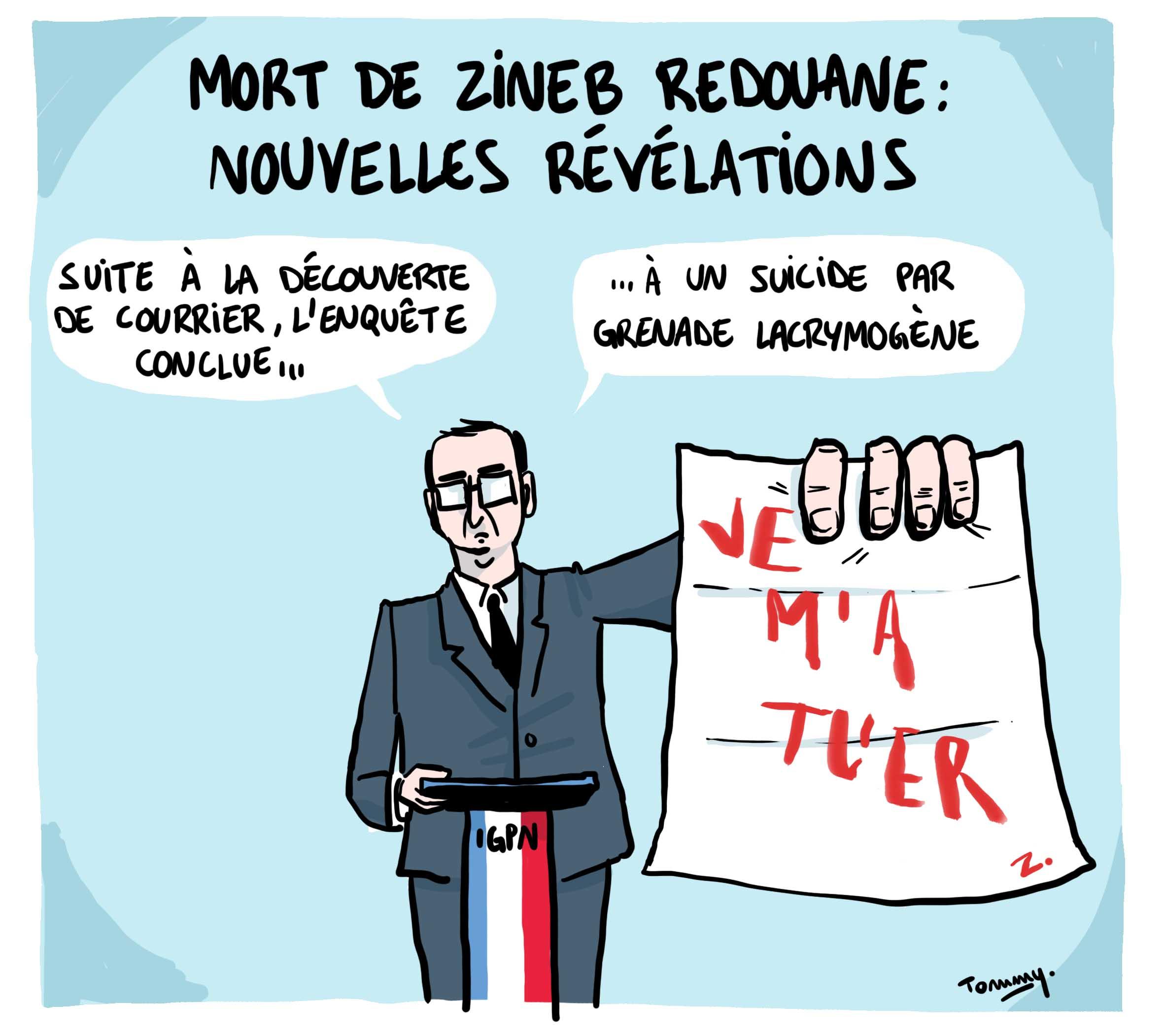 Zineb Redouane : révélations
