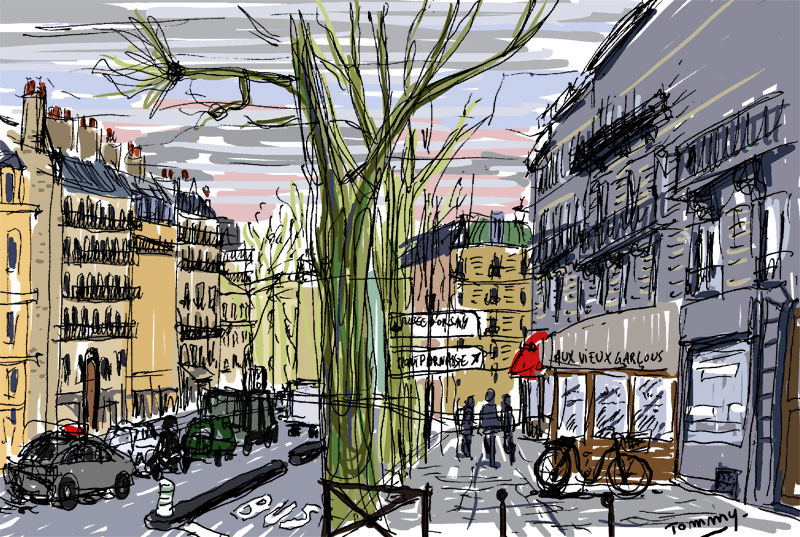 Boulevard Saint-Germain (2/2)