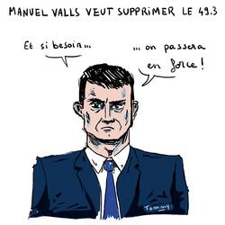 Valls candidat