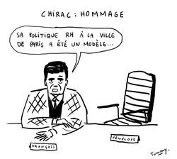 Chirac : hommage