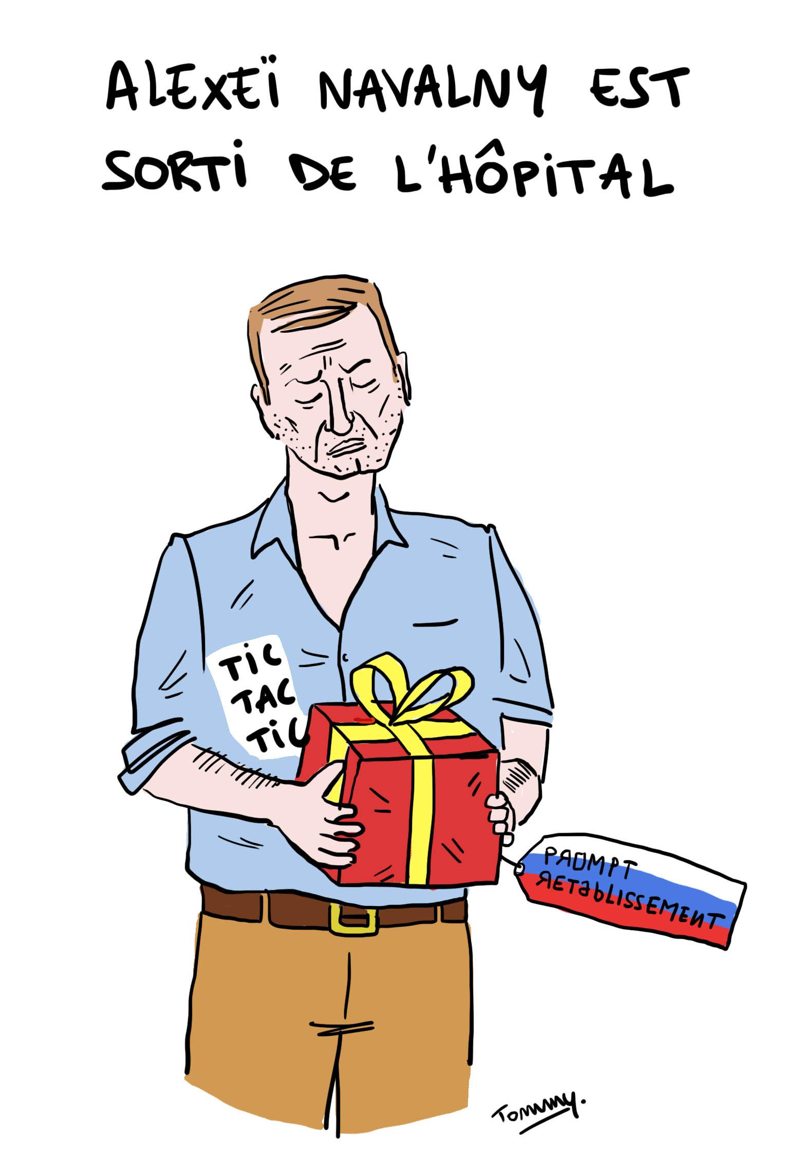 Navalny sorti de l'hôpital