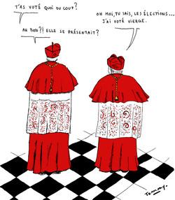 Election d'un nouveau pape