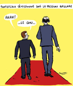 Bouteflika démission
