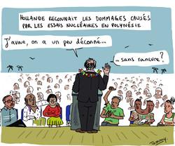 Hollande en Polynésie