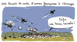 Record de vente d'armes françaises