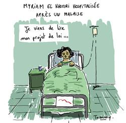 Myriam El Khomri hospitalisée