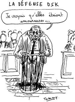 La défense DSK