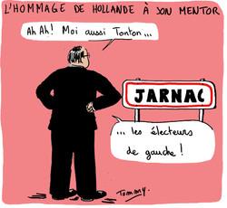 Hollande, héritier de Mitterrand