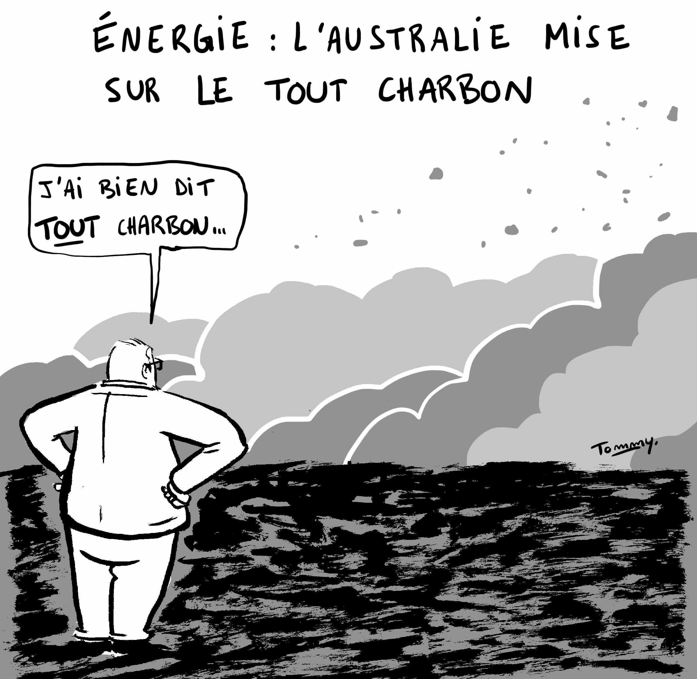 L'Australie mise sur le tout charbon