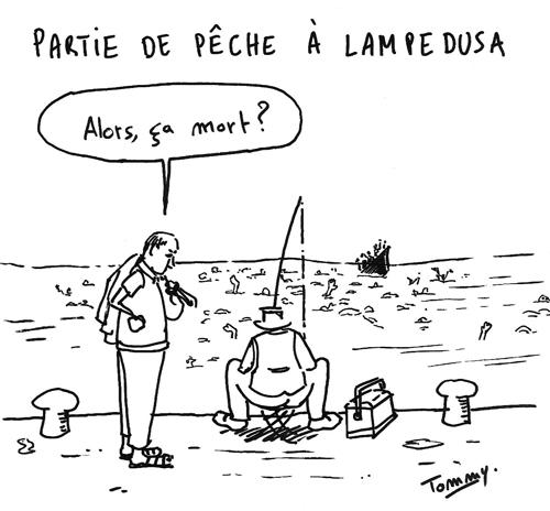 Partie de pêche à Lampedusa