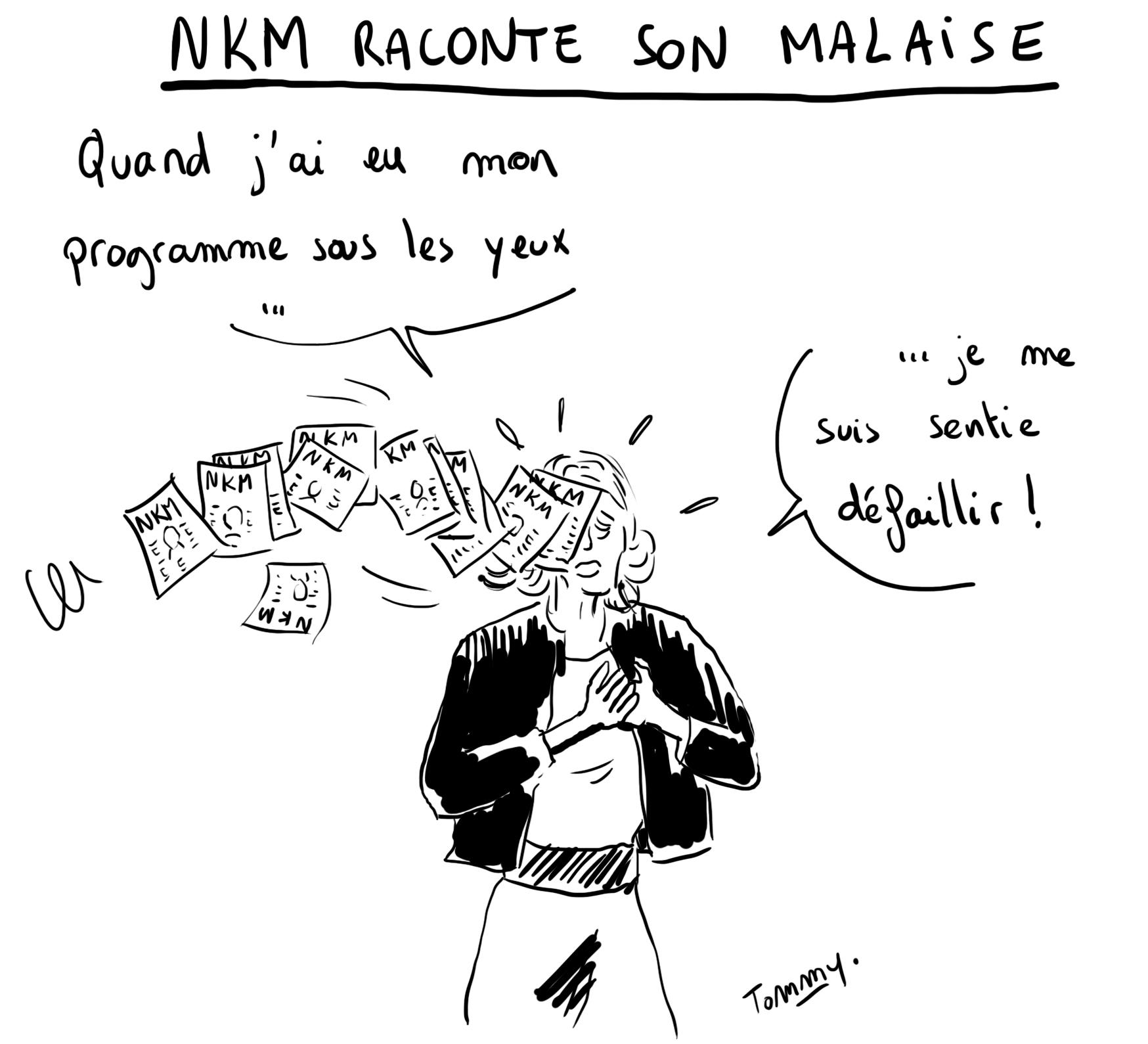 NKM - le malaise