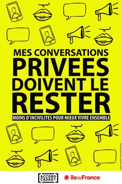 Incivilités - Conversations privées