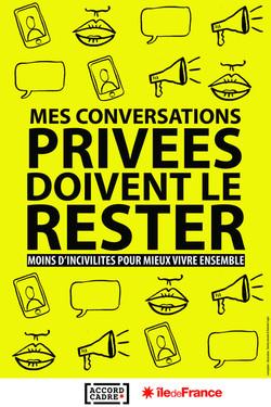 Incivilités - Conversations privées
