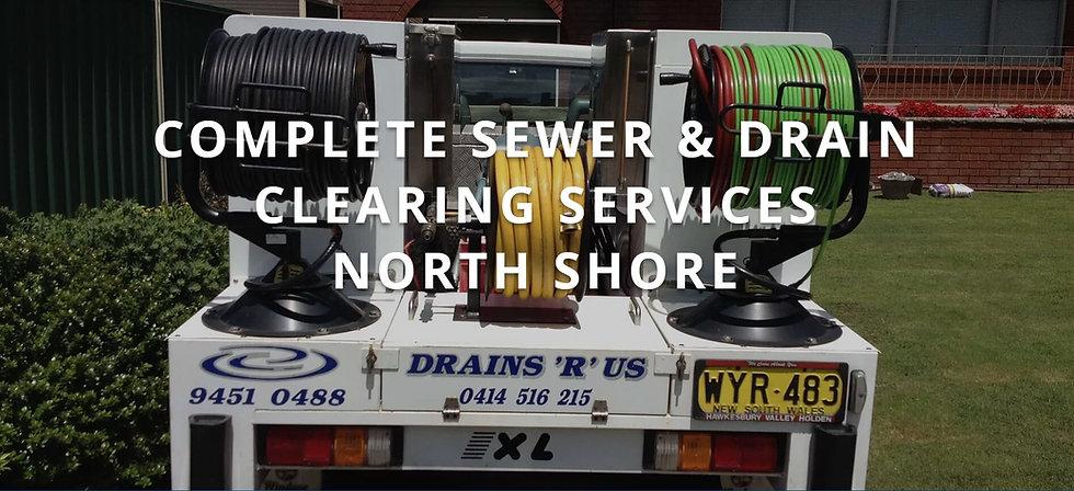 blocked drains north shore sydney nsw
