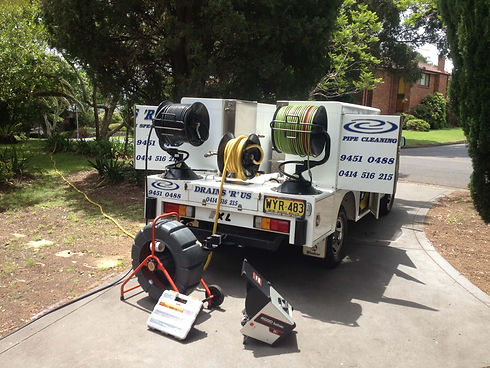 Blocked sewer drain Plumbers Sydney NSW