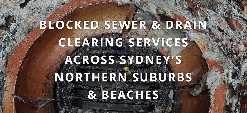 Blocked drain services Sydney NSW