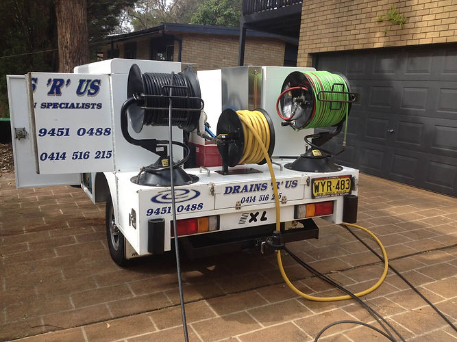 Water jet drain clearing Sydney NSW