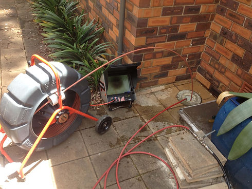 drain camera inspection blocked drains sydney nsw