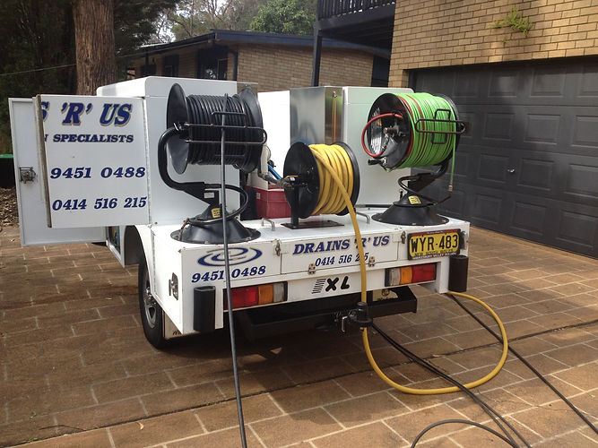High Pressure Water Jet Blocked Drain & Sewer Service Sydney