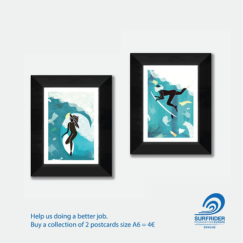 Support Surfrider - 2 cards A6