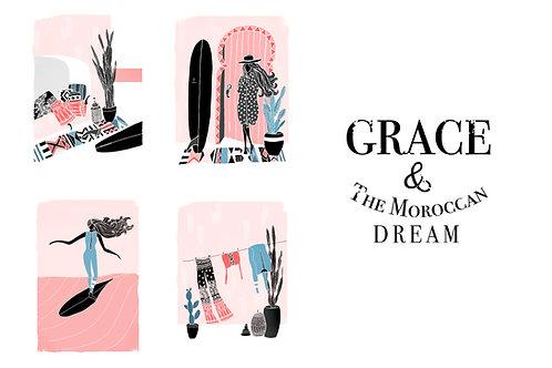 GRACE ALL (4 illustrations)