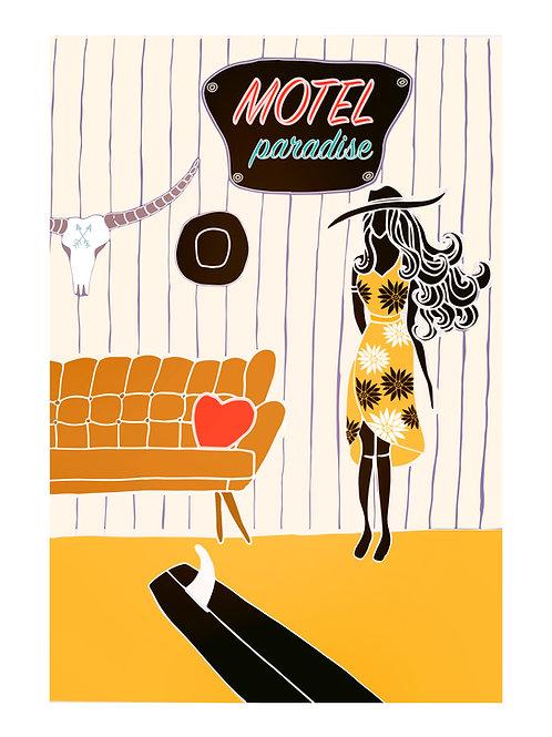 Motel Paradise Girl