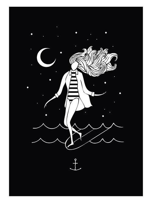 Surfer Girl Moon
