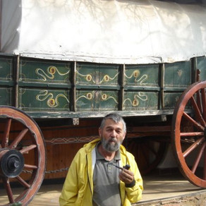 Step into a wagon and go back 200 years