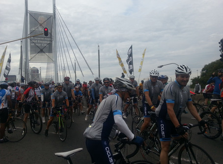 Cycling for Madiba brought us together