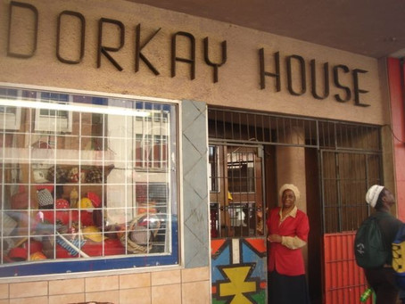 Dorkay House hangs on