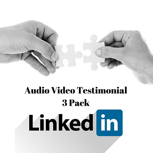 Create Your Audio Video Now- 3 Pack