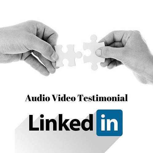 Create Your Audio Video Now Single Item