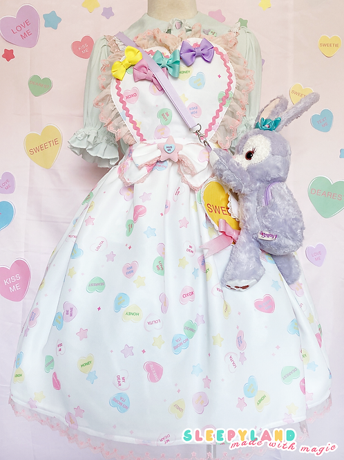 sweetie apron skirt