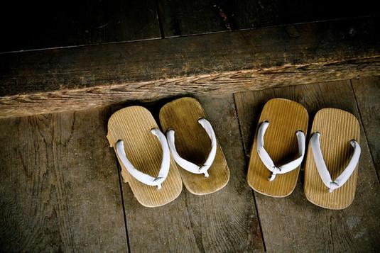 """Zori"" Japanese sandals"