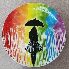 Hurry! Run between the drops! It's nice and dry in the shop. Come and relax and paint while you listen to the rain. Aaahh...therapy.jpg